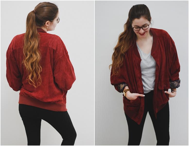 vintage blouson jacke jacket