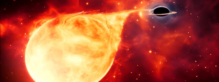 buraco negro massa intermediaria observado pela primeira vez