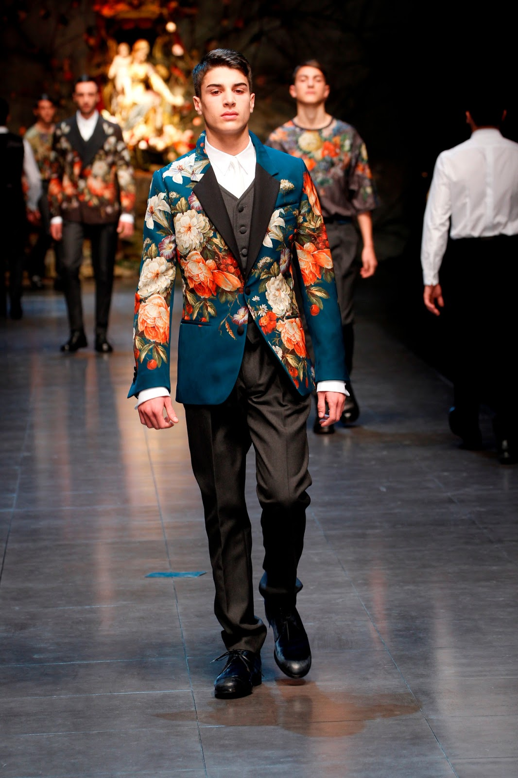 Dolce Gabbana Ss 2015: Men's Styling: Dolce & Gabbana Autumn/Winter 2013