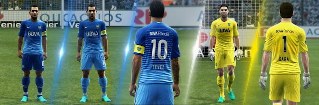 Boca Juniors Kit 2016-2017 PES 2013