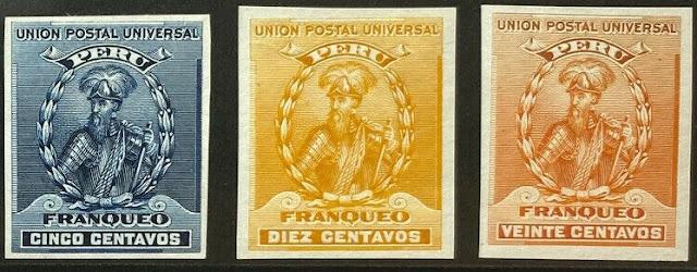 Peru Francisco Pizarro Proofs