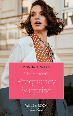 The Heiress's Pregnancy Surprise by Donna Alward cover mills and book