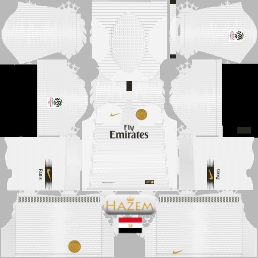 Paris Saint German kits 2019-2020 nike - Draem league Soccer