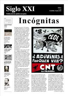 Periódico Siglo XXI nº 36