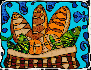 Năm cái bánh và hai con cá