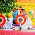 गांधी जयंती की पूर्व संध्या पर बच्चों ने चलाये चरखा