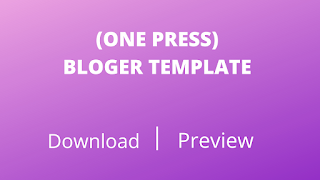 One-Press Blogger Template