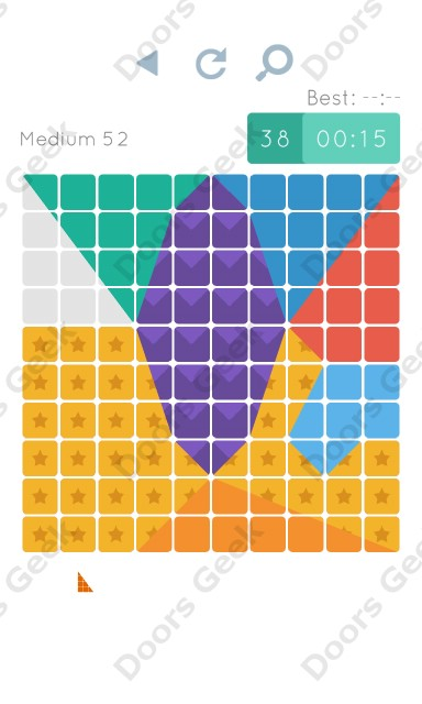 Cheats, Walkthrough for Blocks and Shapes Medium Level 52