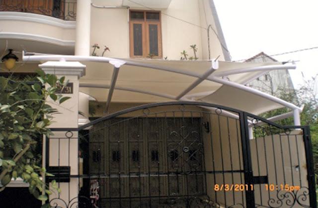 awning membrane rumah