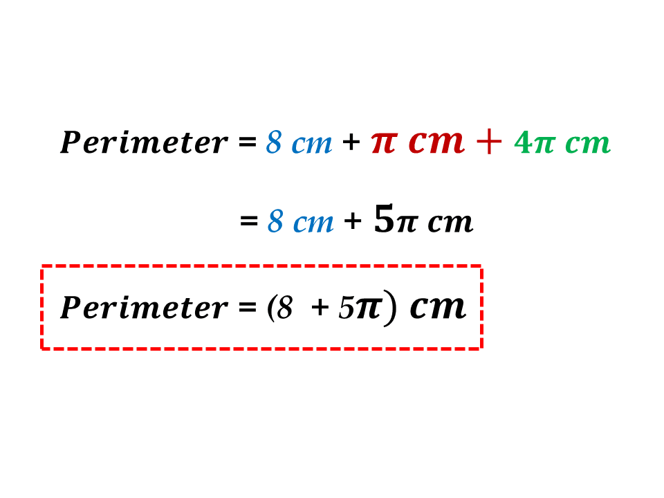 how to find the perimeter of sectors