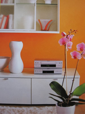 Decorating with orange like fruits and you will be happy with the ideas 6