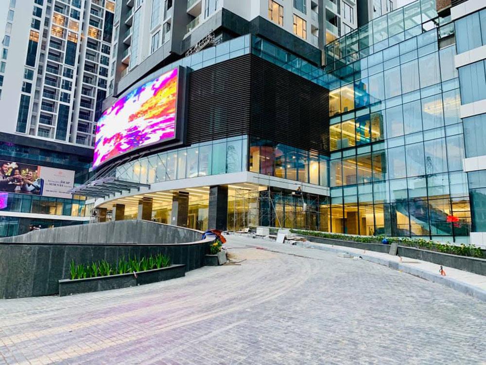 Hình ảnh dự án Sun Grand City Ancora cuối năm 2018