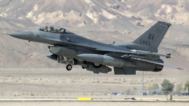 Un caza polivalente F-16 de EE.UU. se estrella cerca de la ciudad alemana de Tréveris