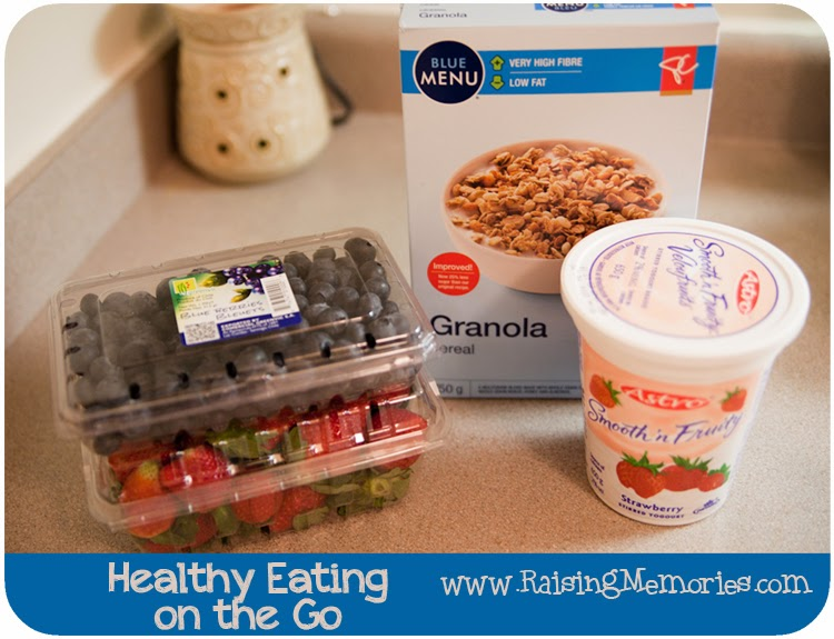 Healthy Eating On The Go #CollectiveBias #Shop