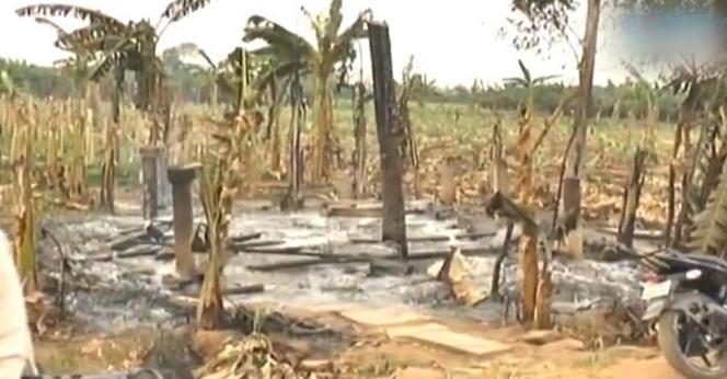 Ap-Police-Closed-Amaravati-Crop-Fields-Fire-Case