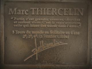 Un des 13 pieds droits de marins célèbres, jetée d'Arcachon, malooka