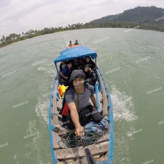 Pesona Wisata Pulau Temajo Bay Resort Mempawah Kalimantan Barat www.saifullah.id