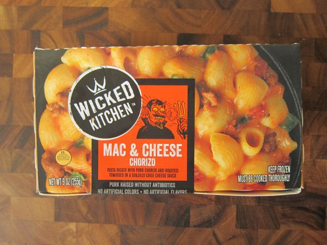 review wicked kitchen chorizo mac cheese brand eating - Wicked Kitchen