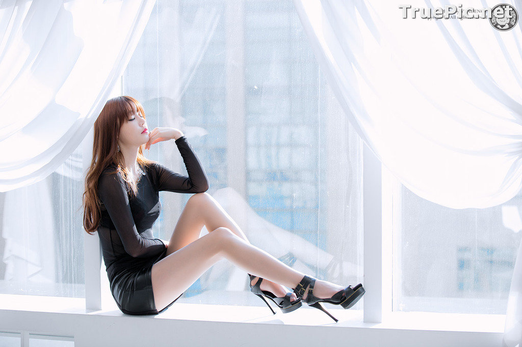 Image Korean Model - Hong Ji Yeon - Cute and Sexy In Studio - TruePic.net - Picture-2