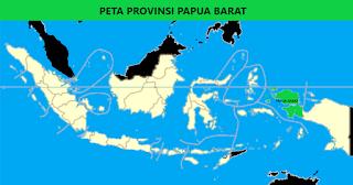 Peta Provinsi Papua Barat