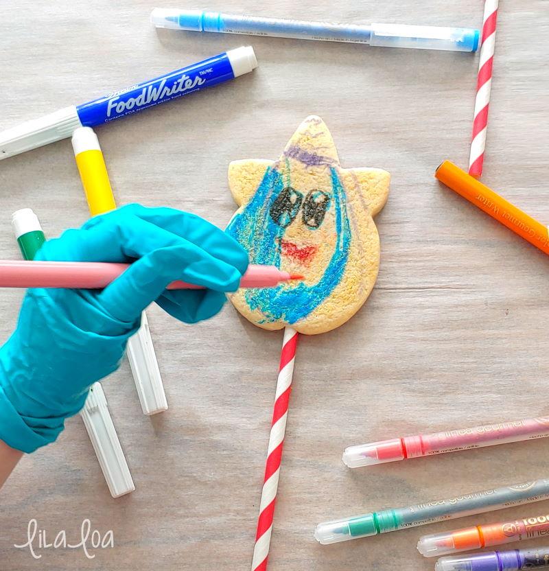 kids cookie craft - sugar cookie puppets