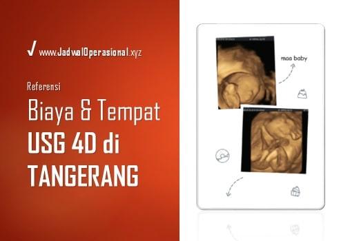 USG 4D di Tangerang