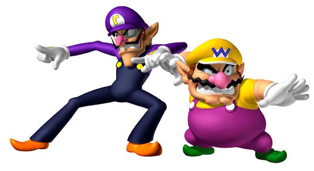 Wario: o ganancioso e caricato rival de Mario