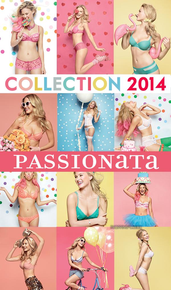 Collection lingerie PASSIONATTA printemps-été 2014