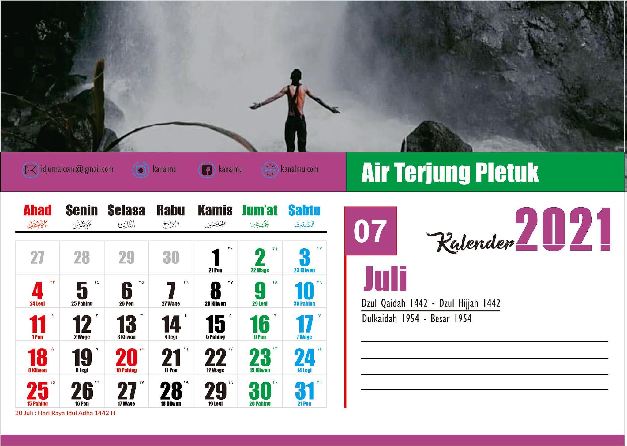 Download Desain Kalender 2021 Meja Format Vector CDR ...