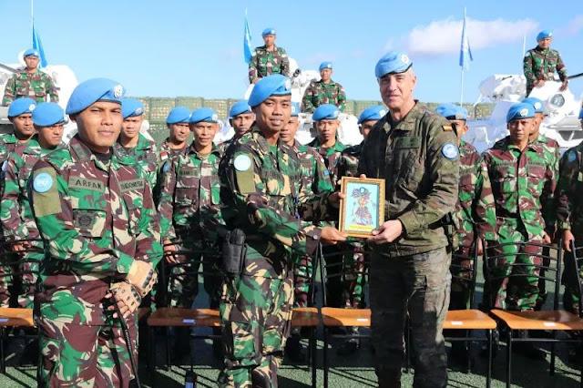 Kinerja Pasukan Perdamaian TNI di Lebanon Dipuji Jenderal Spanyol