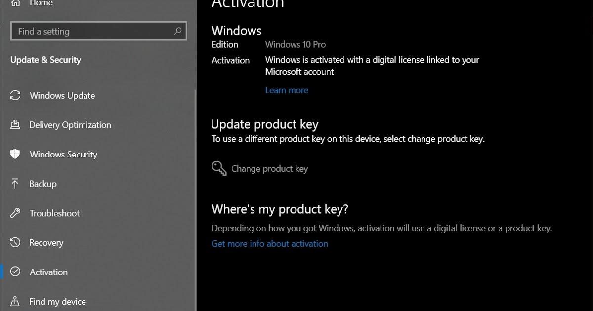 Cara Mudah Aktivasi Windows 10 - BLOG SAYUGI