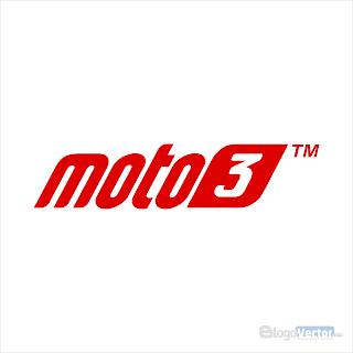 Moto3 Logo vector (.cdr)