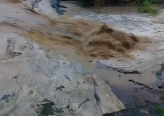 Agricultores registram imagens das chuvas em Barra de Santa Rosa; veja vídeo