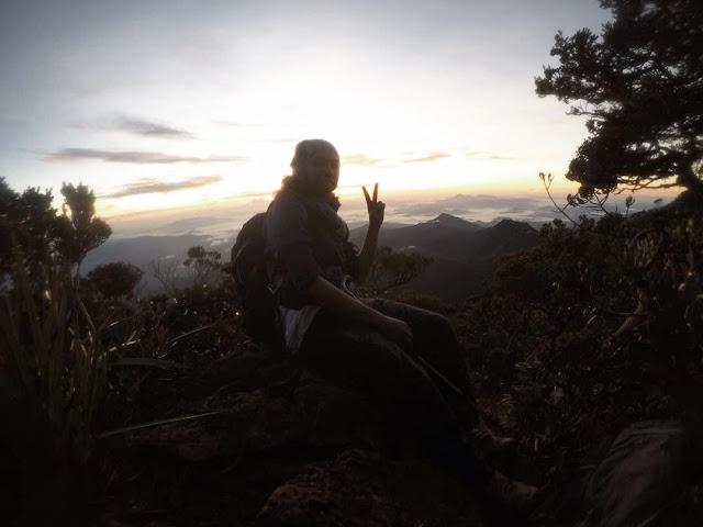 Mount Tambuyukon Sunrise