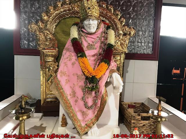 Sai Baba in Jaya Hanuman Temple