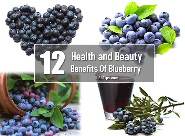 12 Benefits Of Bluberries For Health And Beauty With Nutritional Values