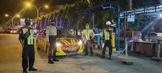 Cegah Kriminalitas, Polres Pelabuhan Makassar dan Polsek Jajaran Gencar Patroli Malam