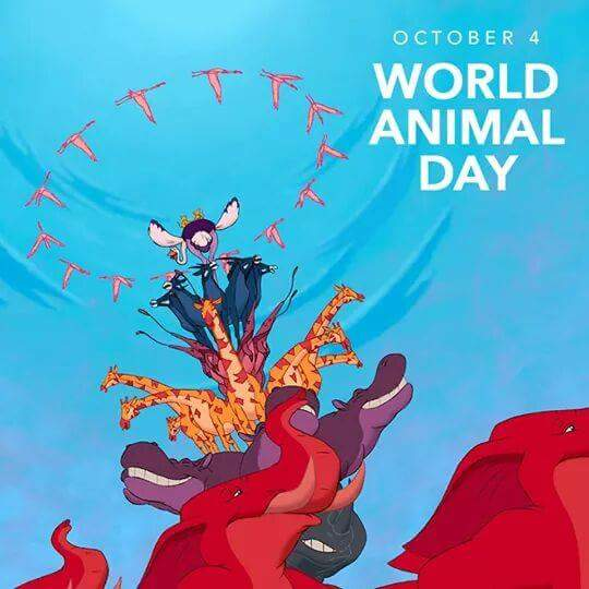 World Animal Day Wishes Beautiful Image