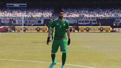 Pes 2016 Algeria Kits 16-17