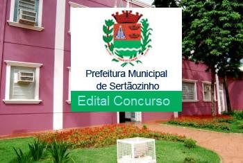 Concurso Prefeitura de Sertãozinho(SP) edital 2017 (Apostilas)