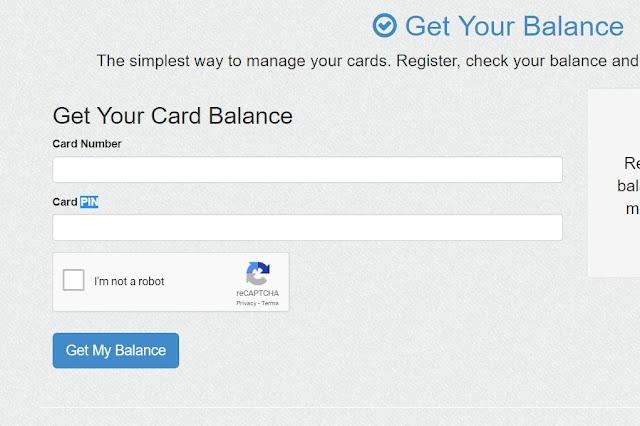 موقع يمكنك من معرفة رصيد البطاقة