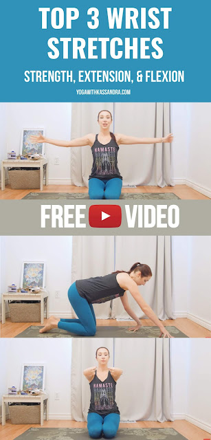 If you experience any sort of pain or discomfort in your wrists, give these 3 poses a try every day.