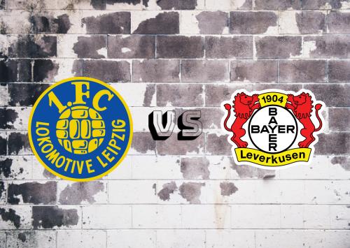 Lokomotive Leipzig vs Bayer Leverkusen  Resumen
