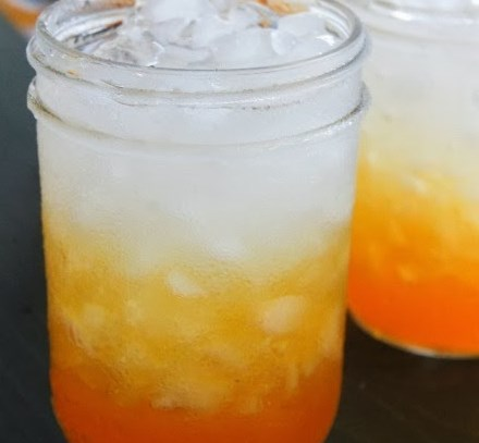 CANDY CORN PUNCH #drinks #halloweendrink