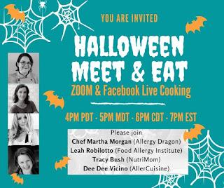 Halloween allergies treats food cooking