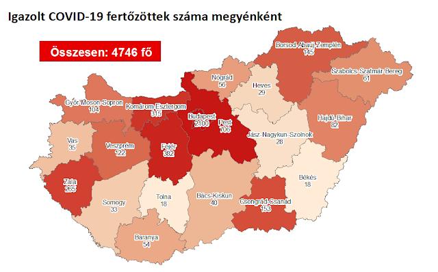 Tizenhárommal emelkedett az aktív fertőzöttek száma itthon