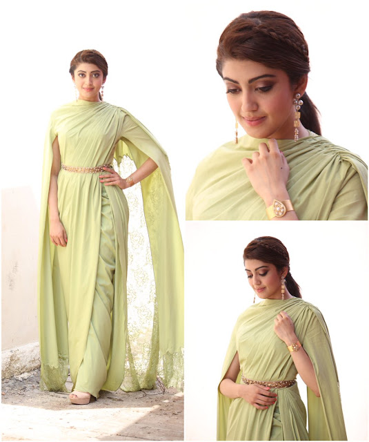 pranitha subhash for memu saitham show photos