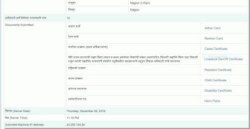 Mahamesh yojana Beneficiary List 2020 - Registration, Login