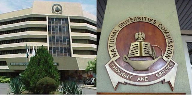 The National Universities Commission (NUC)  NUC Lists Of  Approved Universities For Postgraduate Programmes