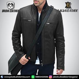 jaket kulit formal